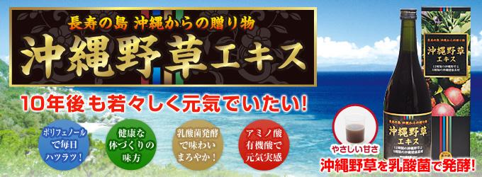 沖縄野草エキス